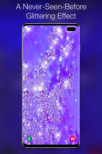 Glitter Live Wallpaper  screenshots 1