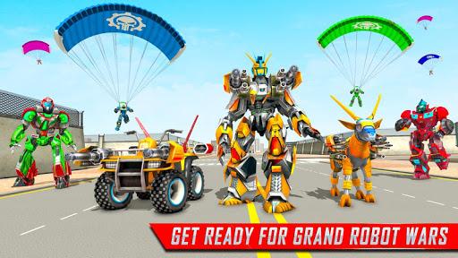 Goat Robot Transforming Games: ATV Bike Robot Game screenshots 11