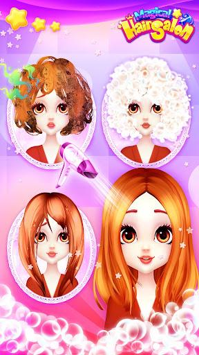 Magical Hair Salon: Girl Makeover 1.1.7 Screenshots 3