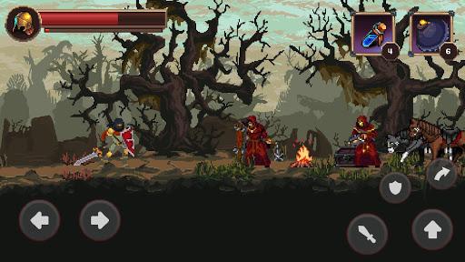 Mortal Crusade: Platformer with Knight Adventure Knight Adventure screenshots 1