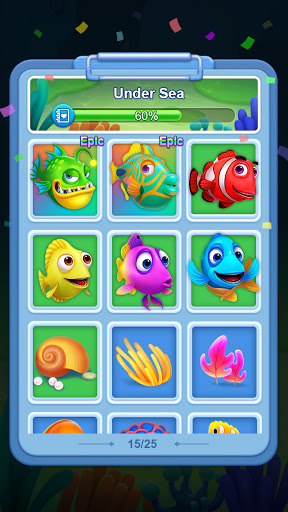Solitaire 3D Fish 1.0.3 screenshots 4