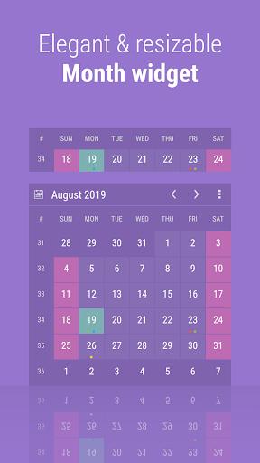 Download APK: Calendar Widget: Month + Agenda v6.3033 [Pro] [Mod Extra]