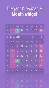 Calendar Widget: Month + Agenda Mod Apk v6.3033 (Pro) 2