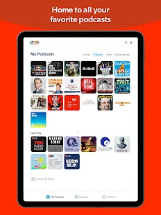 Stitcher Radio Screenshot