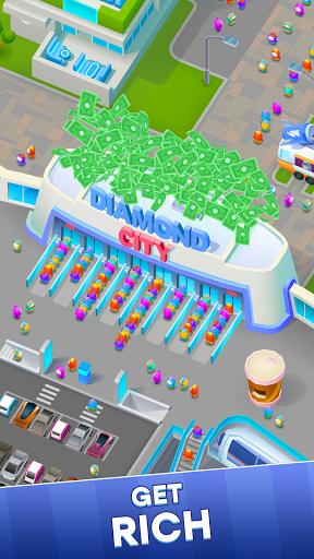 Diamond City: Idle Tycoon apkpoly screenshots 3