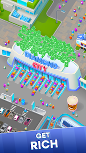Diamond City Mod Apk 0.0.9 (Money and Coins) 3