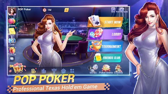 Pop Poker Texas Holdem Game Online V1 2 0 Download For Android And Pc Pc Forecaster