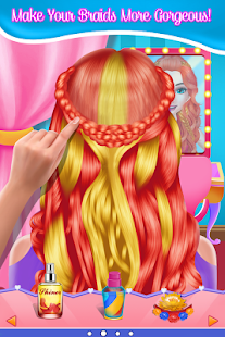 Fashion Braid Hairstyles Salon-girls games 9.0.11 screenshots 2