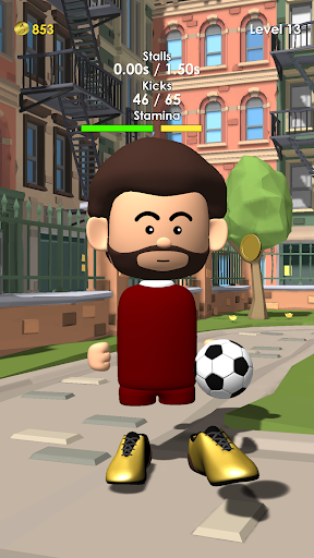 The Real Juggle - Pro Freestyle Soccer screenshots 1