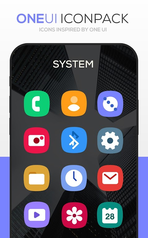 ONE UI Icon Pack poster 0