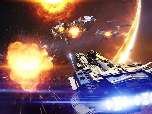 Nova Empire: Space Commander Battles in Galaxy War 2.1.9 screenshots 1