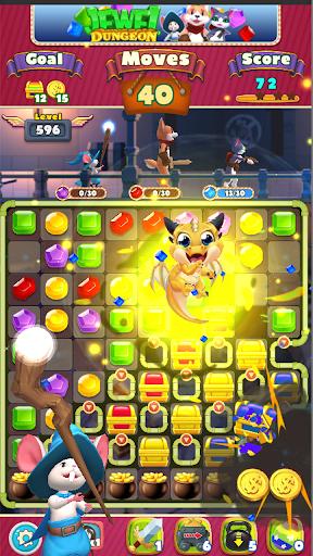 Jewel Dungeon - Match 3 Puzzle 1.0.99 screenshots 4