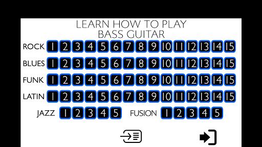 Learn how to play Bass Guitar  screenshots 1