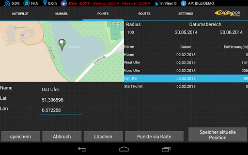 Carplounge GPS Autopilot V3 7.9.3 Screenshots 5