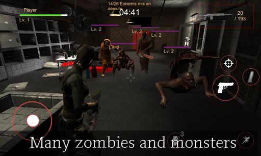 Evil Rise : Zombie Resident - Third Person Shooter modiapk screenshots 1