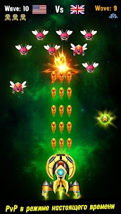 Space shooter – Galaxy attack MOD APK 1.522 (VIP Unlocked, Money) 3