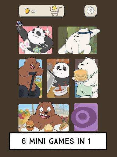 We Bare Bears - Free Fur All: Mini Game Arcade  Screenshots 8