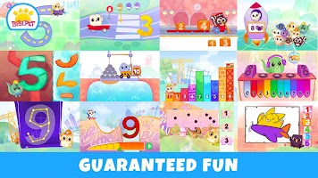 Bibi Numbers 123 - Counting and Sorting Kids Games