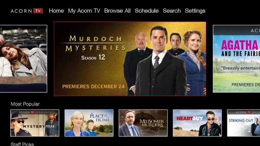 Foto do Acorn TV—The Best In British Television Streaming