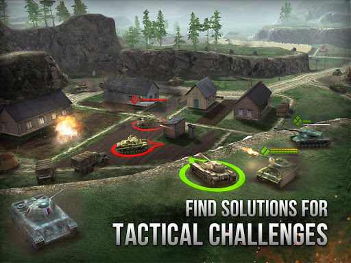 Armor Age: Tank Wars u2014 WW2 Platoon Battle Tactics 1.13.301 screenshots 11