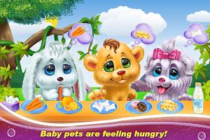 Pets Vet Doctor Baby sitter Nursery Care Games