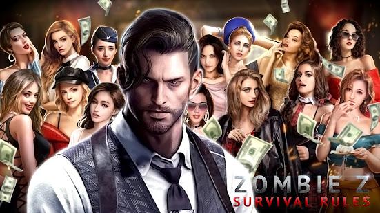 Zombie Z: Survival Rules - Love & Apocalypse Game  screenshots 1