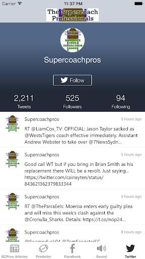 supercoachpros app screenshot 1