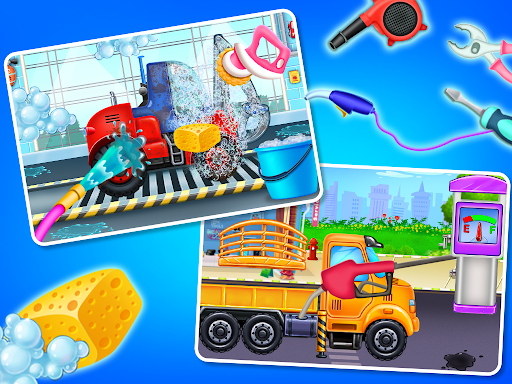 Home Builder - Truck cleaning & washing game  screenshots 11