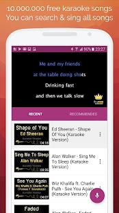 Karaoke: Sing & Record 8.4.1 Screenshots 1