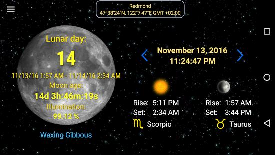 Moon Calendar 3.0 Screenshots 2