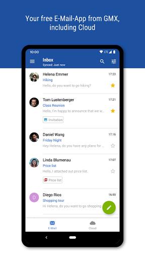 GMX - Mail & Cloud  Screenshots 1