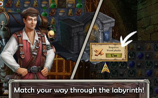 MatchVentures - Match 3 Castle Mystery Adventure Apkfinish screenshots 4