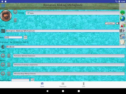 Genealogical trees of families screenshots 14