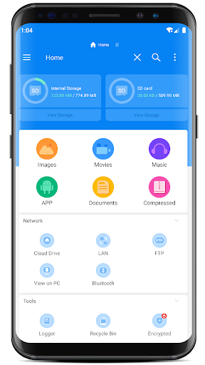 RS File : File Manager & Explorer EX android2mod screenshots 1
