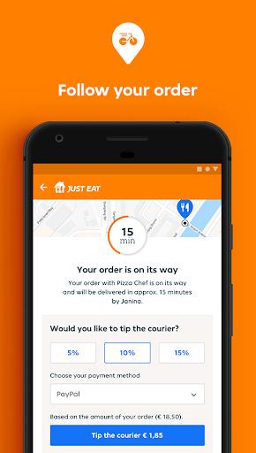 Just Eat France - Food Delivery android2mod screenshots 4
