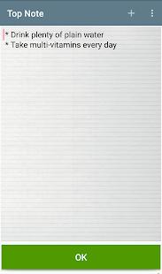 Top Notepad Notes