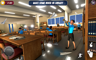 Scary Scaredy Teacher Simulator: Crazy Math 2021