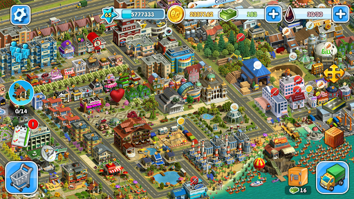 Eco City: new free building and town village games 1.0.435 screenshots 2