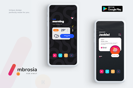 Ambrosia for KWGT APK [PAID] Download for Android 2