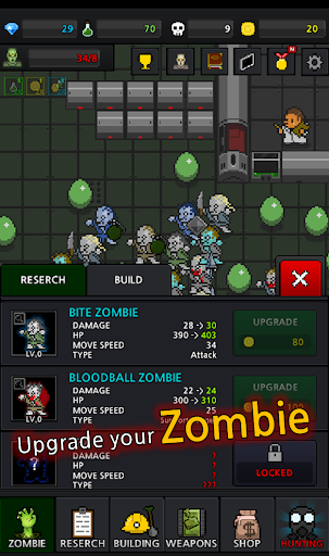 Grow Zombie VIP - Merge Zombies  screenshots 7