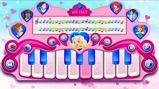 pink real piano - princess piano screenshot 3