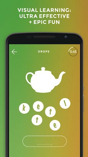 Drops: Learn Swedish language and words for free android2mod screenshots 1