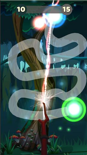 line wand magic - follow track drawing screenshot 3