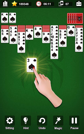 Spider Solitaire modiapk screenshots 1