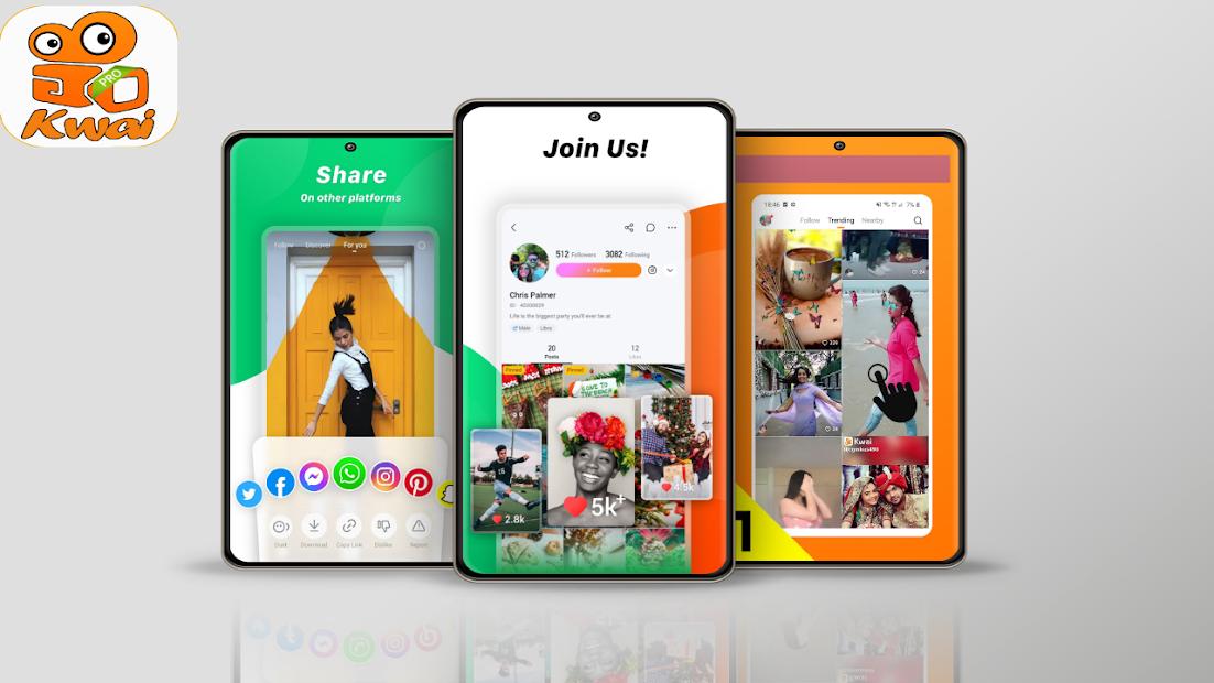 Imágen 3 de free kwai video status editor tips para android