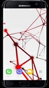 3D Abstract Particle Plexus Live Wallpaper APK 1