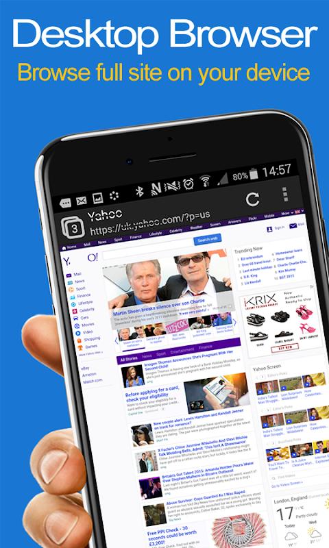 Desktop FullScreen Web Browserのおすすめ画像1