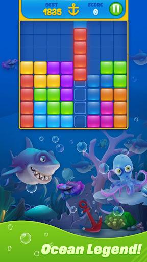 Save Fish - Block Puzzle Aquarium modavailable screenshots 5