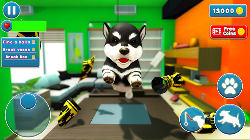 Virtual Puppy Dog Simulator: Cute Pet Games 2021 2.1 screenshots 3