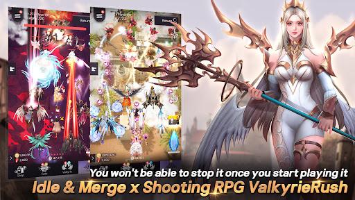 Valkyrie Rush : Idle & Merge  screenshots 1